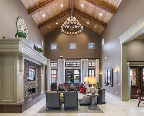 Kathy Andrews Interiors Asset Plus Companies The Arrabella Houston TX Multifamily Leasing and Amenity Center club