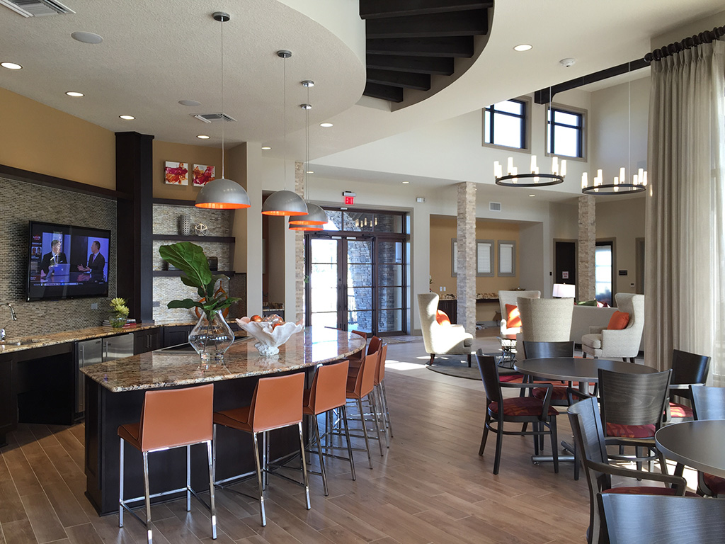 Kathy Andrews Interiors Fish Hawk Ranch Active Adult Living Community Amenity Center 3