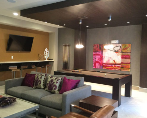 Multifamily Interior Design Kathy Andrews Interiors Interior Architecture Ceiling and Wall Details 10