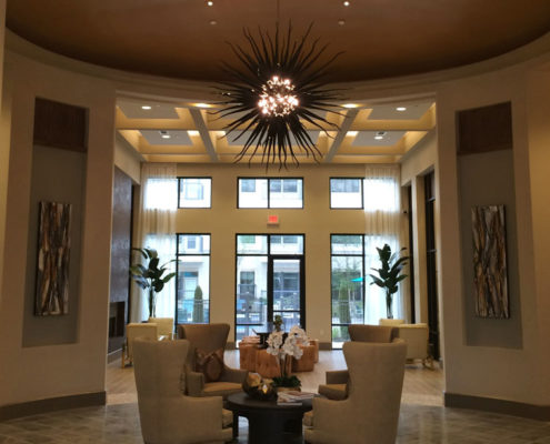 Multifamily Interior Design Kathy Andrews Interiors Interior Architecture Ceiling and Wall Details 5