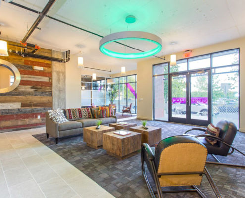 Multifamily Interior Design Kathy Andrews Interiors Interior Architecture Ceiling and Wall Details 7