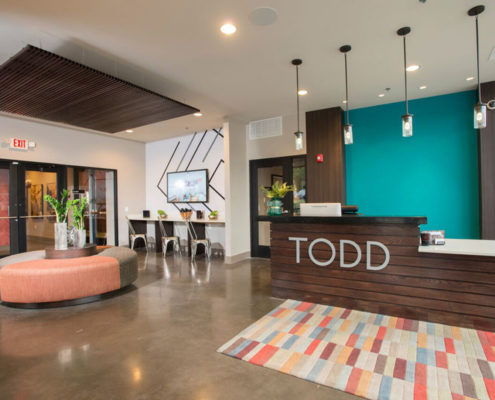 Multifamily Interior Design Kathy Andrews Interiors Interior Architecture Wall and Graphics 8