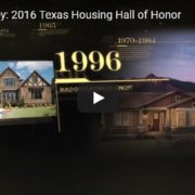 David Weekley Hall of Honor Video Screen Shot