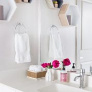 Multifamily Interior Design Kathy Andrews Interiors Multifamily The Corazon Model designer restroom
