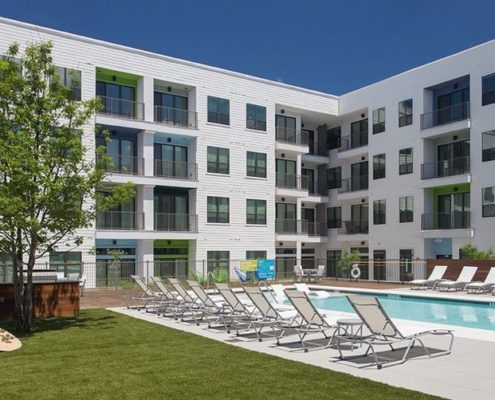 Multifamily Interior Design Kathy Andrews Interiors Multifamily The Corazon pool grilling area