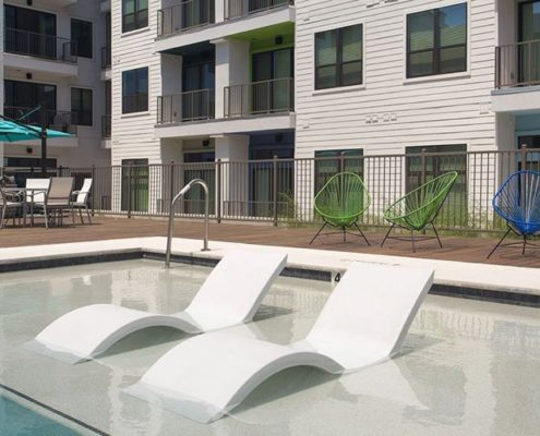 Multifamily Interior Design Kathy Andrews Interiors Multifamily The Corazon pool lounge