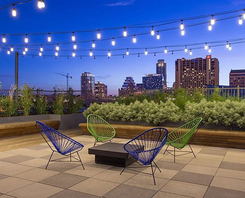 Multifamily Interior Design Kathy Andrews Interiors Corazon rooftop cropped