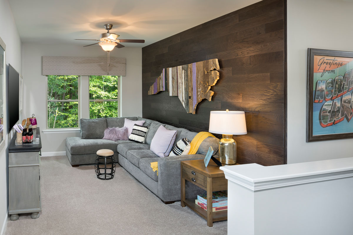 Kathy Andrews Interiors David Weekley Homes Chapel Run Pinegate 5748 Durham Retreat