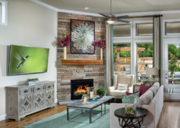 Kathy Andrews Interiors David Weekley Homes Active Adult Living Encore at Briar Chapel Harwin 5674 Family