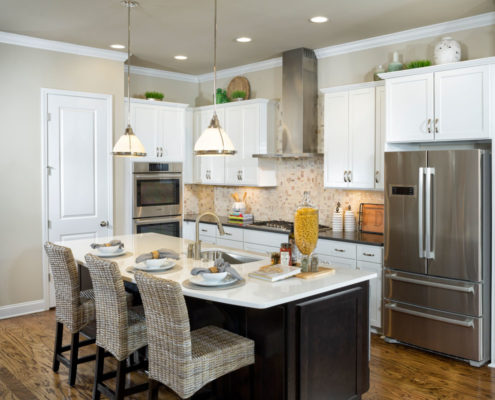 Kathy Andrews Interiors David Weekley Homes Active Adult Living Encore at Briar Chapel Harwin 5674 Kitchen