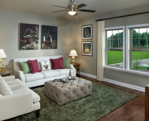 Kathy Andrews Interiors David Weekley Homes Active Adult Living Encore at Briar Chapel Harwin 5674 Retreat