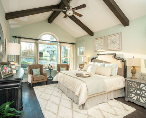 Kathy Andrews Interiors David Weekley Homes Montclair Honeycutt 5608 Wendell NC Master