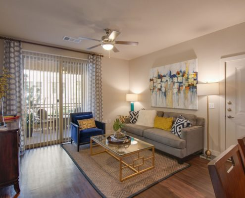 Kathy Andrews Interiors Bell Ken-Caryl Multifamily Model Living