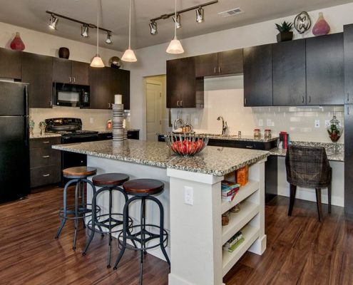 Multifamily Interior Design Kathy Andrews Interiors Multifamily Bell Ken-Caryl Model Kitchen