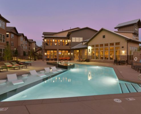 Kathy Andrews Interiors Multifamily Leasing and Amenity Center Bell Ken-Caryl Outdoor