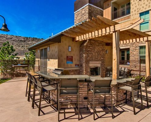 Multifamily Interior Design Kathy Andrews Interiors Multifamily Outdoor Bell Ken-Caryl Grill