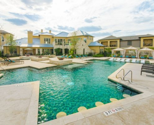 Kathy Andrews Interiors Multifamily Leasing and Amenity Center Grand at the Dominion Outdoor 3