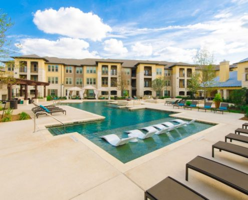 Kathy Andrews Interiors Multifamily Leasing and Amenity Center Grand at the Dominion Outdoor 6