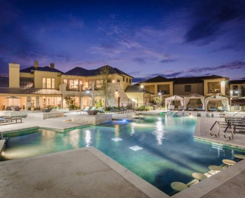 Kathy Andrews Interiors Multifamily Leasing and Amenity Center Grand at the Dominion Outdoor 7