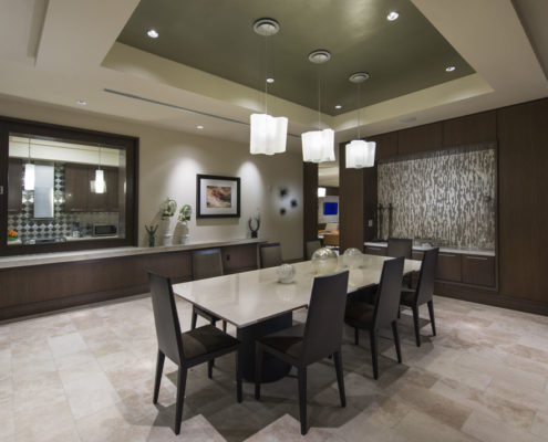 Multifamily Interior Design Kathy Andrews Interiors Hanover Post Oak Multifamily Leasing and Amenity Center Dining