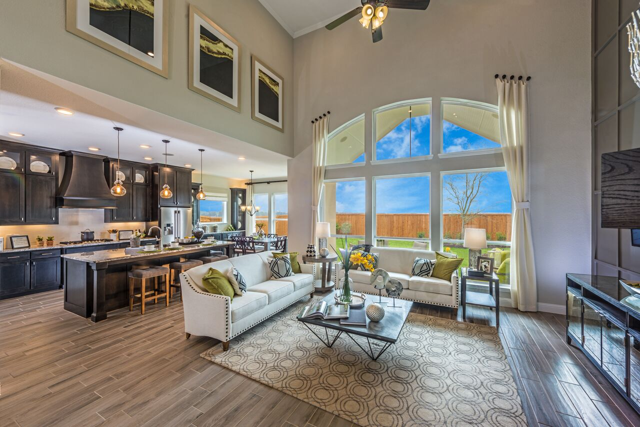 Kathy Andrews Interiors Landon Homes Lexington Country Heritage Series 432  Frisco Texas Model Overview