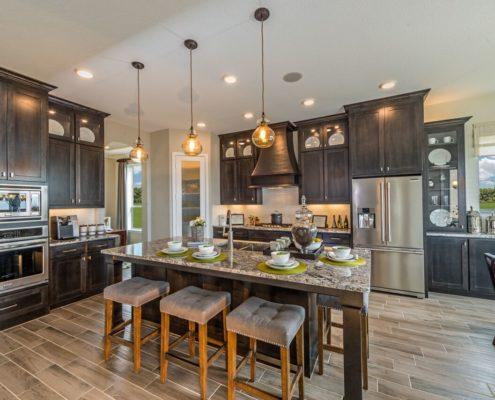 Kathy Andrews Interiors Landon Homes Lexington Country Heritage Series 432 Frisco Texas Kitchen