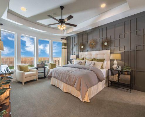 Kathy Andrews Interiors Landon Homes Lexington Country Heritage Series 432 Frisco Texas Master Bed