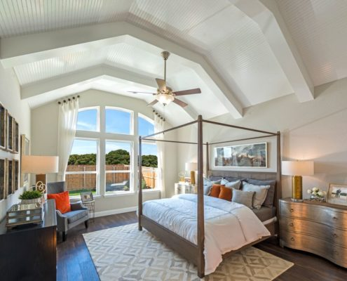 Kathy Andrews Interiors Landon Homes Lexington Country Heritage Series 450 Frisco Texas Master Bed 3