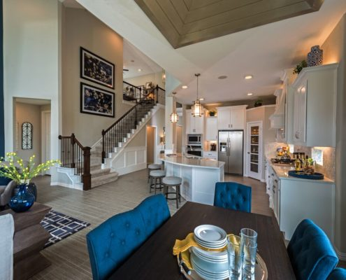 Kathy Andrews Interiors Landon Homes Lexington Country Impression Series 4655 Frisco Texas Dining