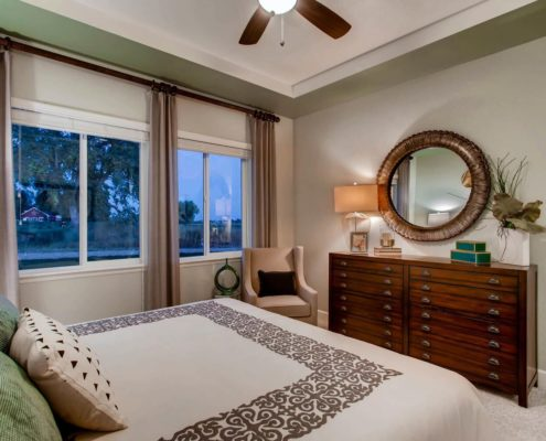 Kathy Andrews Interiors Richfield Homes The Ridge at Harmony Road Windsor CO Bedroom