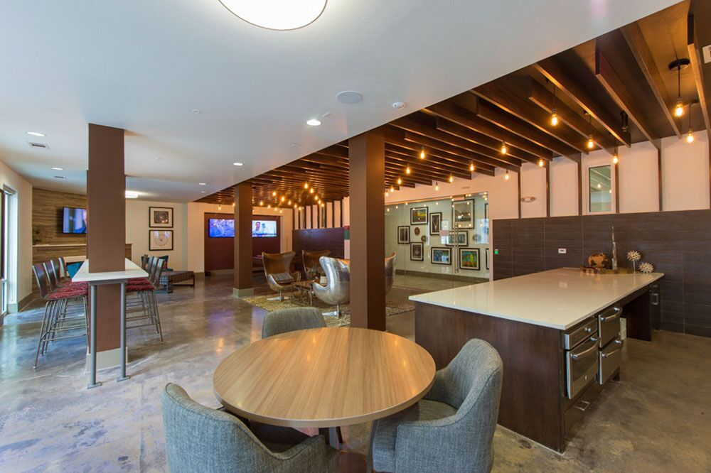 Kathy Andrews Interiors Student Housing Dinerstein Companies ...