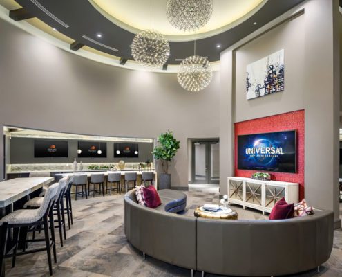 Kathy Andrews Interiors The Core Scottsdale Multifamily Leasing and Amenity Center Lobby 11