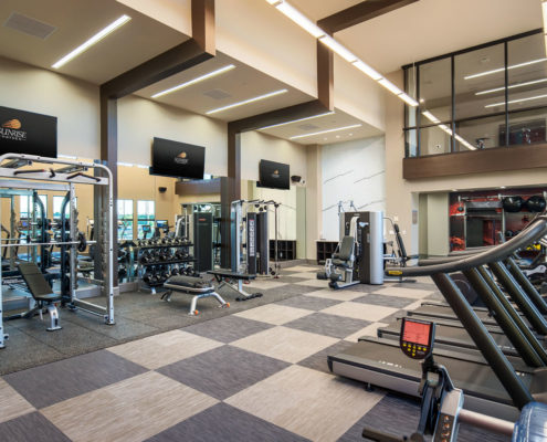 Kathy Andrews Interiors The Core Scottsdale Multifamily Leasing and Amenity Center Fitness 2