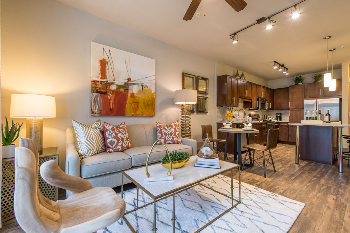 Kathy Andrew Interiors Multifamily Interior Design Model Units Pearl At The Mix 3 Kathy