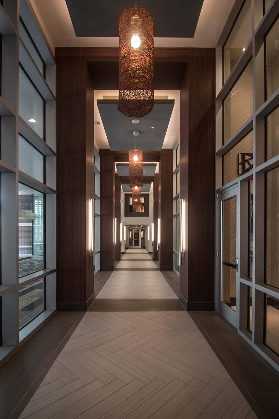 Kathy Andrew Interiors Multifamily Interior Design Leasing and Amenity Center Pearl CityCentre North Lobby 2