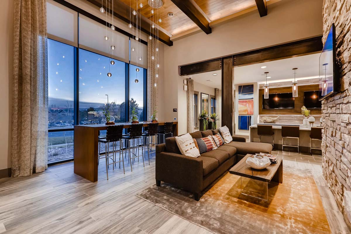 Kathy Andrews Interiors Multifamily Interior Design Leasing And Amenity  Center Venue At The Promenade Clubhouse 3