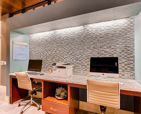 Kathy Andrews Interiors Multifamily Interior Design Leasing and Amenity Centers Touchstone Business Center