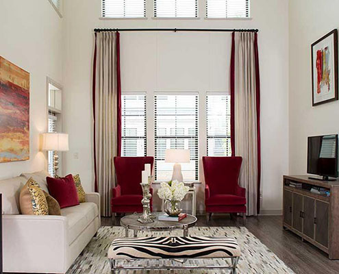 Kathy Andrews Interiors Multifamily Interior Design Model Unit Parkside at Memorial cropped