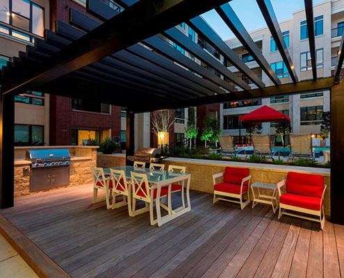 Kathy Andrews Interiors Multifamily Interior Design Outdoor Ascent at CityCentre cropped