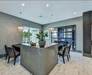 Elegant Kathy Andrews Interiors Multifamily Interior Design Streamsong Leasing Area