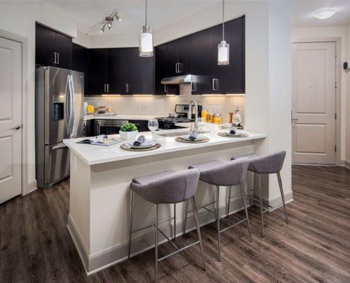 Kathy Andrews Interior Multifamily Interior Design The Core Scottsdale Model 2