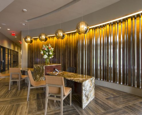 Kathy Andrews Interiors Alexan Yale Street Amenity Center