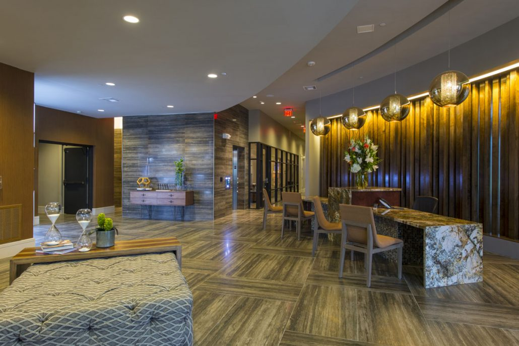 Kathy Andrews Interiors Alexan Yale Street Amenity Center 5