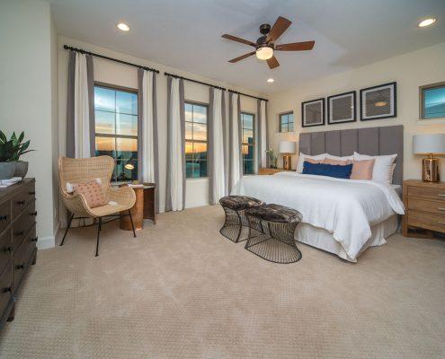 Kathy Andrews Interiors David Weekley Homes Southside Place Angelou 8609 Dallas TX Bedroom