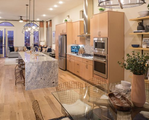 Kathy Andrews Interiors David Weekley Homes Southside Place Angelou 8609 Dallas TX Kitchen 2