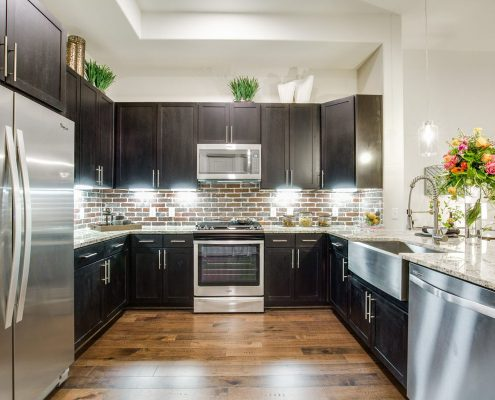 Kathy Andrews Interiors Multifamily Interior Design Model Unit Alexan Downtown9