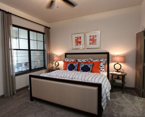 Kathy Andrews Interiors Multifamily Interior Design Model Unit Alexan Spring Crossing
