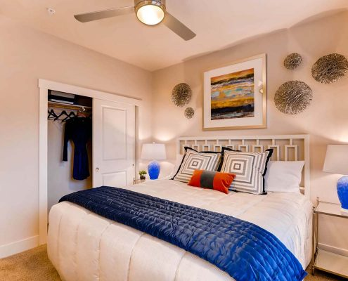 Kathy Andrews Interiors Multifamily Interior Design Model Units Touchstone Bedroom 3