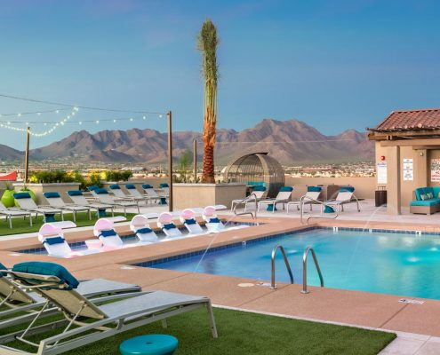 Kathy Andrews Interiors Multifamily Interior Design The Core Scottsdale Outdoor 2