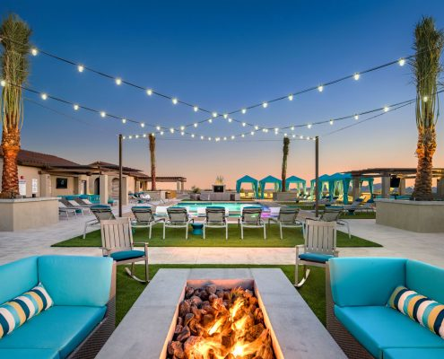 Kathy Andrews Interiors Multifamily Interior Design The Core Scottsdale Outdoor